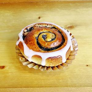 ケシの実とクルミの渦巻きパン